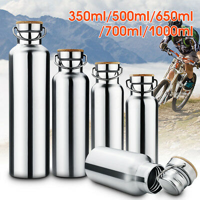 350-1000ml(12-35oz) Stainless Steel Sports Vacuum Insulation Water Bottle Travel