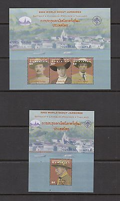 SCOUTING - Dominica  - 2002 sheets -(SC 2376-7)-MNH-B933