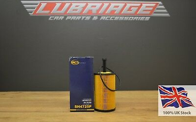 Oil filter SH4725 for PEUGEOT 106  Made in Germany