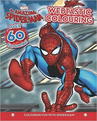 Spider-Man Colouring Fun (Marvel Colouring Fun), New, Marvel Book