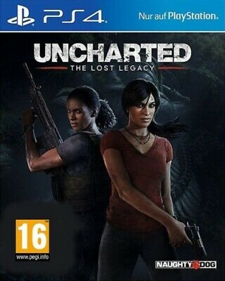 Uncharted: The Lost Legacy (PS4) PEGI 16+ Adventure Expertly Refurbished Product