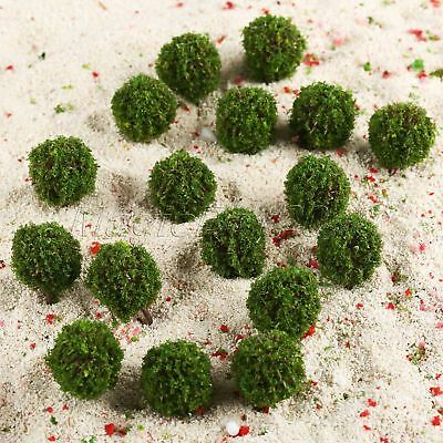 35mm Landscape Scenery Topiary Model Trees 30pc Train Diorama Layout OO HO Scale