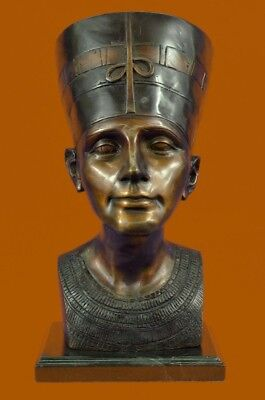 Bronze Queen Nefertiti, God, The Queen, Beautiful, Egyptian Pharaoh Ancient BC