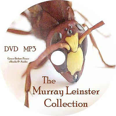 Murray Leinster Sci Fiction Audio Book Collection On 1 Mp3 Dvd Space