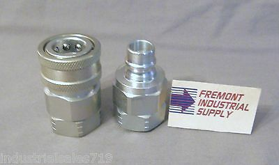 "Hydraulic quick coupler set 1"" NPT  Interchanges w/ VHC16-16F/VHN16-16F"