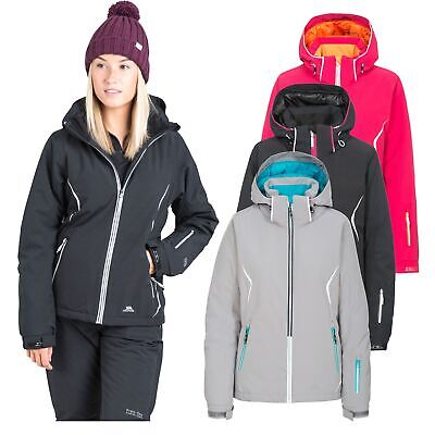 Trespass Tyrona Womens Ski Jacket Snowboard Windproof Warm Coat with Hood 7276933c3