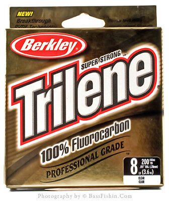 Berkley Trilene 100% Flurocarbon Fishing Line
