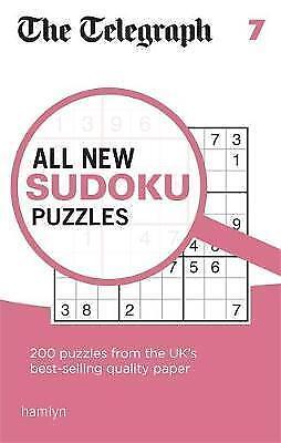 The Telegraph All New Sudoku Puzzles 7 (The Telegraph Puzzle Books) by THE TELEG