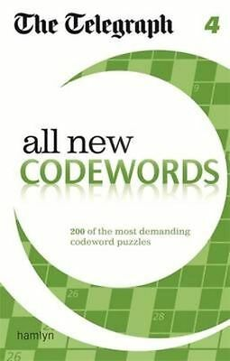 The Telegraph All New Codewords 4 (The Telegraph Puzzle Books),New Condition