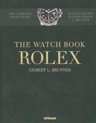 The Watch Book Rolex by Gisbert Brunner (Hardback, 2017)