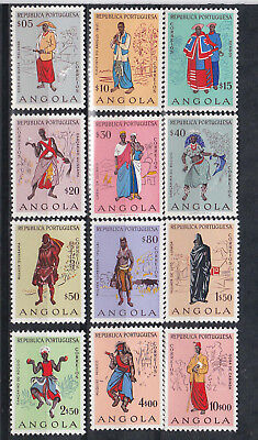 1957 costumes,set MNH Sc 395/406          k575