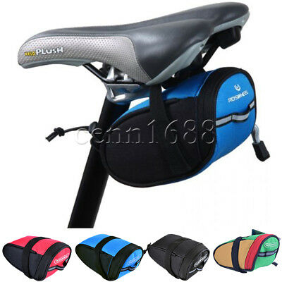 Cycling Bike Waterproof Saddle Bag Wedge Rear Seat Bicycle Mtb Road