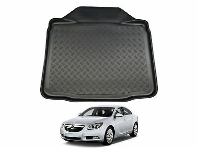 Tailored Fit Black Boot Liner Tray Car Floor Mat for Vauxhall Insignia (08-17)