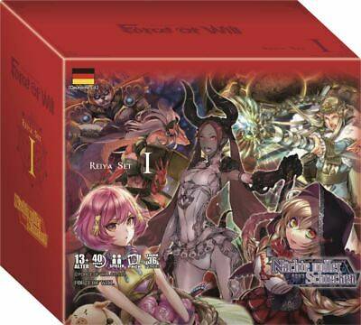 Force of Will - Nächte voller Schrecken - 1 Display (36 Booster) - Deutsch