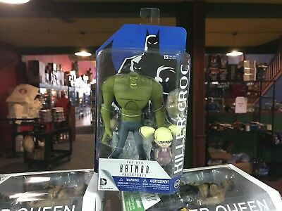 "2016 DC Direct New Batman Adventures Animated KILLER CROC 6"" Figure MOC"