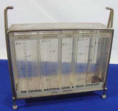 Vintage Advertising Bank  The Central National & Trust Company Bank  Promotional