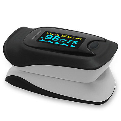 MeasuPro OX200 Instant Read Finger Pulse Oximeter, Blood Oxygen SpO2