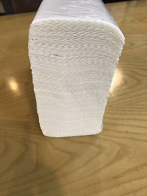 3000 Pcs 22x22 Dispenser Interleave HAND PAPER TOWEL STRONG ABSORBENT Multifold