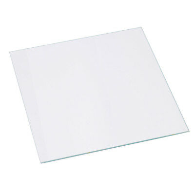213x200x3mm 3D Printer Reprap Heated Bed transparent Borosilicate Glass Plate