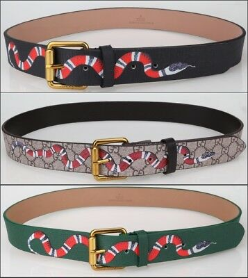 Hot Sell Fashion Print Design Men's Belt Waistband Square Gold Buckle