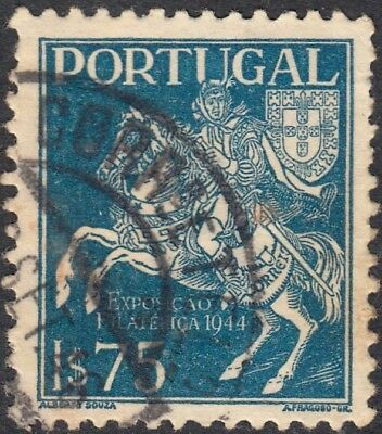 Portugal 1944 1e.75 Blue 3rd National Philatelic Exhibition Used
