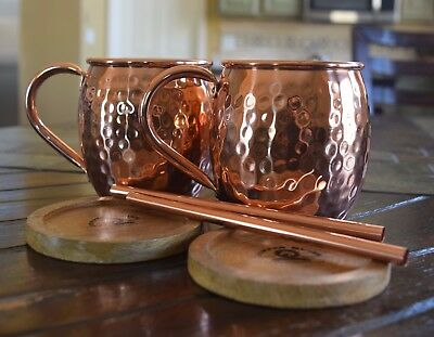 Handcrafted Copper Mug Moscow Mule