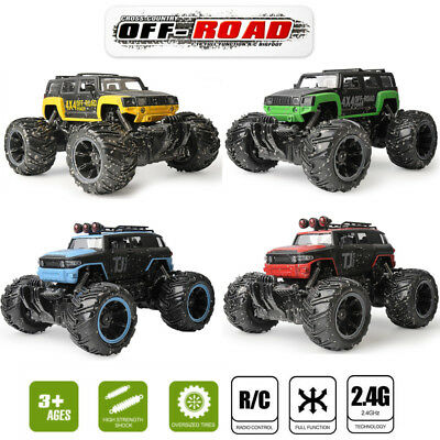 1:16 Off Road Monster Truck RC Car Rc toys 2.4G Radio Control Jeep Rock Crawler