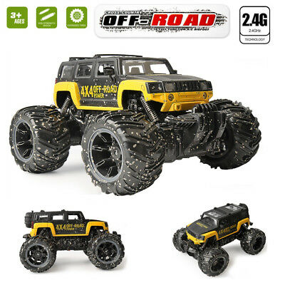 1/16 Off Road Monster Truck RC toys 2.4G Remote Control Jeep Big Power- UK STOCK