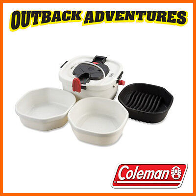 COLEMAN ALL IN ONE PORTABLE SINK -runs on 4D batteries or Rechargeable Cartridge