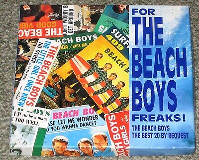 The BEACH BOYS Japan PROMO ONLY 21 track CD in BOX Brian Wilson 1993 OFFICIAL!