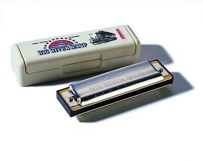 Hohner Big River Harp MS Harmonica - G