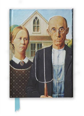 Wood-American Gothic By Grant Wood (Foil  AC NEW