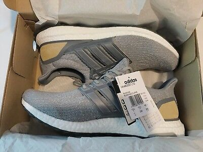 44feeaba0747 ADIDAS ULTRA BOOST 3.0 UK 8 LTD Luxury Pack Grey Leather BB1092 ...