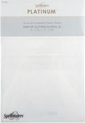 Spellbinders Extra Large XL Cutting Plates 2 Pack for Platinum Cutting Machines