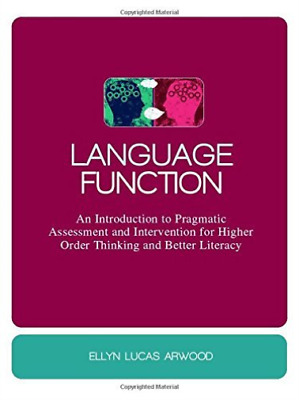 Arwood  Ellyn Lucas-Language Function  BOOK NEW