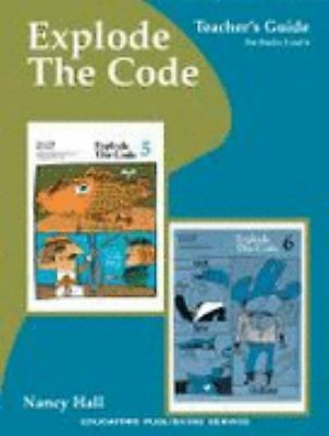 Explode the Code Book, Teacher's Guide for Books 5 and 6