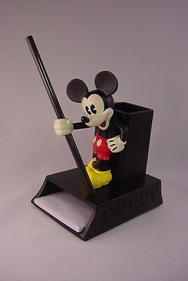 Disney Mickey Mouse Character Resin Pencil Cup/memo Holder