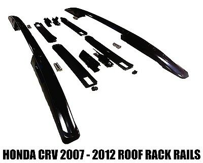 Roof Rails Fits Honda Crv 2007 - 2012 Side Bars Rack Mount Suv Black