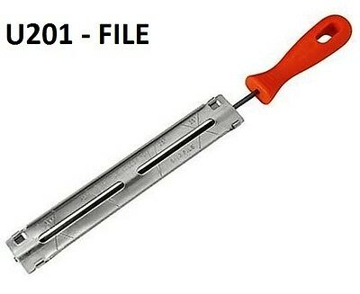 """4MM ROUND CHAINSAW FILE Sharpening Chainsaw Chains Guide Plate 5/32"""" U201"""