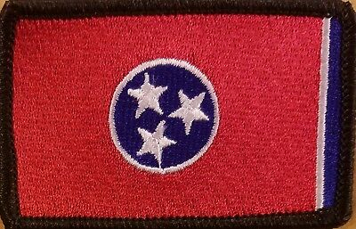 FLORIDA STATE Flag Patch W// VELCRO® Brand Fastener Tactical Military Black #99