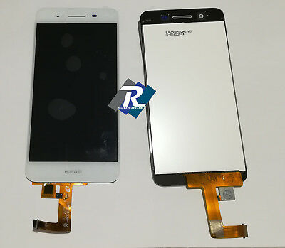 TOUCH SCREEN VETRO LCD DISPLAY Per Huawei P8 Lite SMART TAG-L01 Bianco