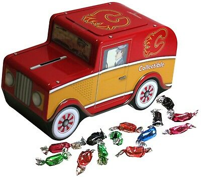 Calgary Flames Top Dog NHL Candy Truck Piggy Bank