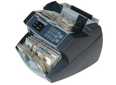 Bill Counter Machine Money Cash Currency Counting Uv Mg Counterfeit Detector