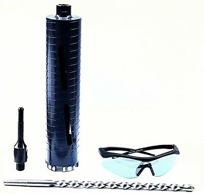 "2 1/2"" Dry Core Bit for Concrete with SDS Plus Adapter and Center Guide"