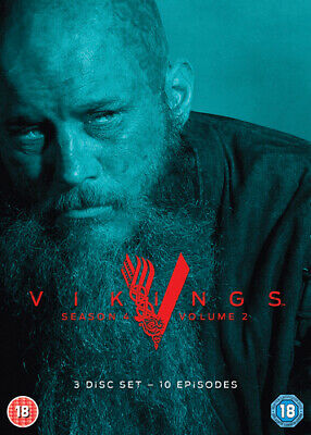 Vikings: Season 4 - Volume 2 DVD (2017) Travis Fimmel cert 18 3 discs