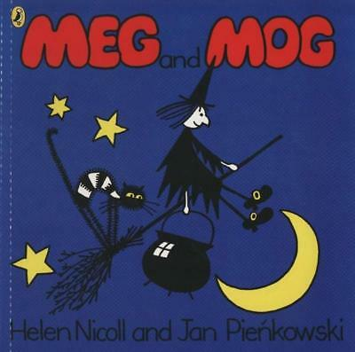NEW Meg and Mog By Helen Nicoll Paperback Free Shipping