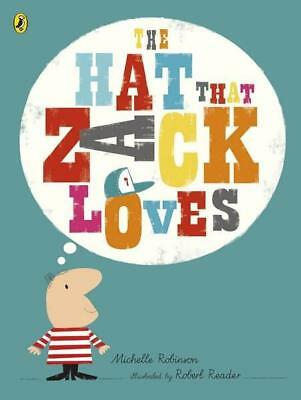 NEW The Hat That Zack Loves By Michelle Robinson Paperback Free Shipping