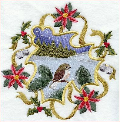 Beautiful Christmas Embroidery Designs on a CD.
