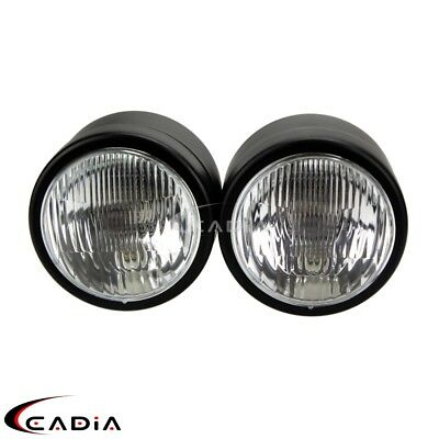 """Motorcycle Double 4"""" Headlight Head Lamp Fit Streetfighter Cafe Racer GSF600 SV"""