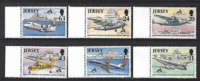 Jersey 1997 Aircraft - 60Th Anniversary Opening Of Jersey Airport Unmounted Mint